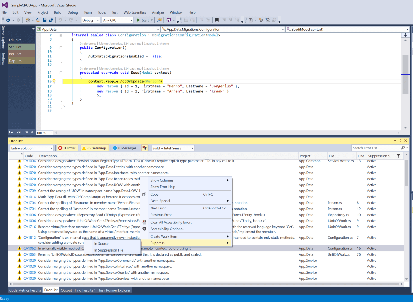 Visual Studio 5