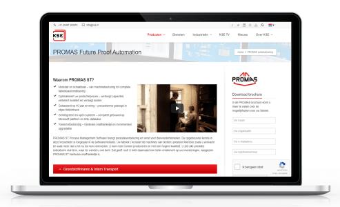 PROMAS-programmatuur naar dotnet omgeving – KSE