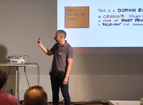 Video-impressies Domain Driven Design en (micro)services in de praktijk